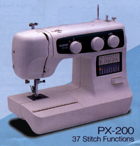 px 100 sewing machine